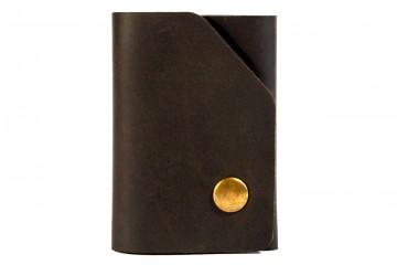 SMARTY. Кожаный мини-кошелек с выдвижным механизмом для карт
