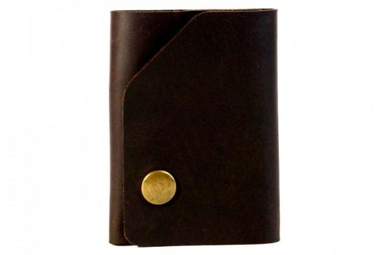 MINI. Маленький кожаный кошелек с отделом для карт