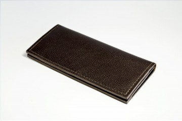 ROMER. Кожаный мужской кошелек с 8 отделами для карточек
